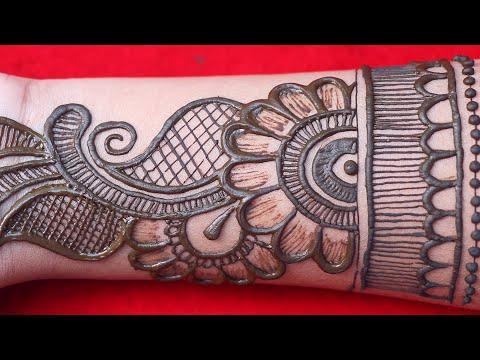 arabic bridal mehndi design full hand by amisha arts