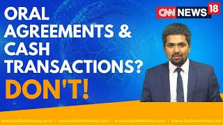 Must Avoid : Cash Transactions and Oral Agreements | Money Doctor Show | EP : 264