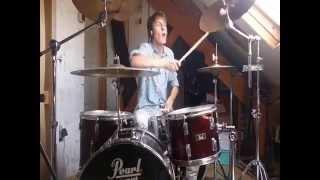 TREB - The Disease (Angels & Airwaves drum cover)