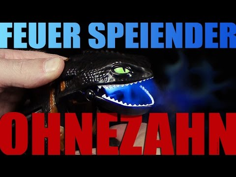 Dragons - Feuer speiender Ohnezahn / Giant Fire Breathing Toothless - Unboxing / Re-Upload