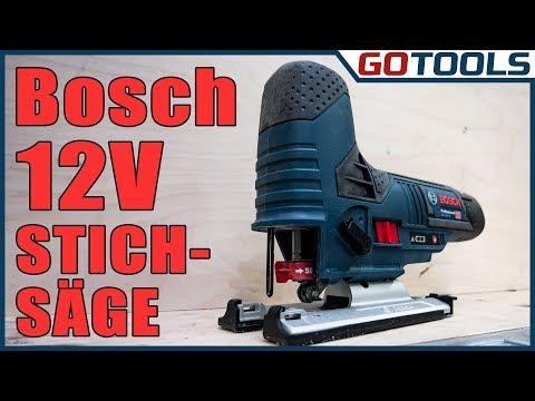 Bosch 12V Akku Stichsäge GSR 12V-70 - Kompakt und handlich aber eine Menge Power