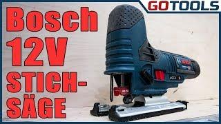Bosch 12V Akku Stichsäge GST 12V-70 - Kompakt und handlich aber eine Menge Power