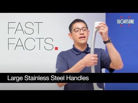 SLH Series: Large Stainless Steel Handles