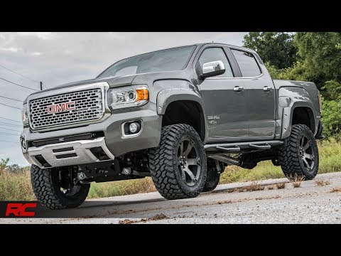 2018 GMC Canyon Denali Rough Country Off-Road Edition (Cyber Gray Metallic) Vehicle Profile