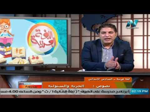 لغة عربية للصف السادس الابتدائي 2021  ( ترم 2 ) الحلقة 3 – نصوص : الحرية والسئولية