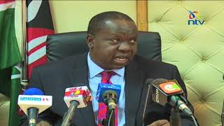 Hold poll before exams, Matiang'i urges IEBC - VIDEO