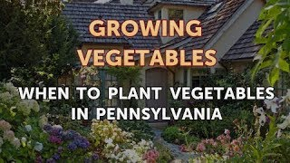 When to Plant Vegetables in Pennsylvania