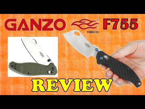 Review of the Ganzo Firebird F755   The CLEAVER