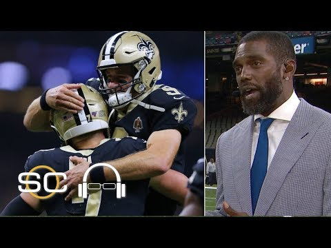Watch: Michael Thomas reacts to the Saints' last-second win