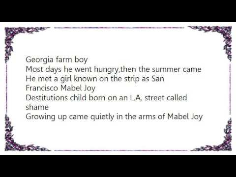Waylon Jennings - San Francisco Mabel Joy Lyrics