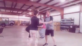 Dancing With The Chamber Stars Practice with Jeff Morgan and Kathleen Cussen