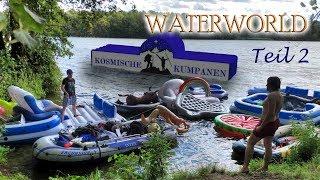 WATERWORLD - Teil 2/2 - Nachts auf der Bestway CoolerZ Badeinsel