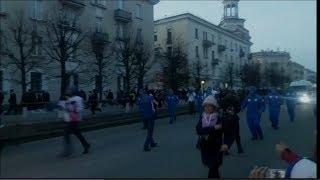 ЭСТАФЕТА ОГНЯ в Железногорске. Универсиада 2019