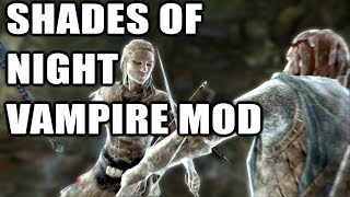Shades of Night Vampire Mod (Playable Vampire Race) | Skyrim Remastered Mods on the Xbox One Console