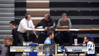 Rochester Boys Basketball vs LaVille