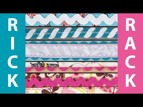 How to Sew with Rickrack