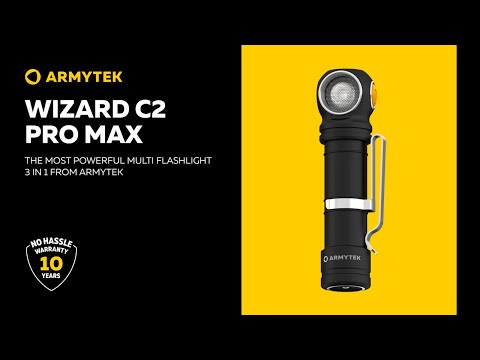 Armytek Wizard C2 Pro Max — flagship product in multi flashlight lineup