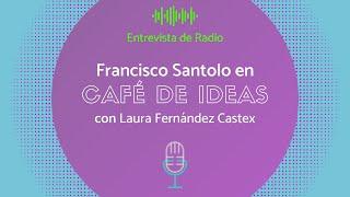 Francisco Santolo en Café de Ideas, con Laura Fernández Castex