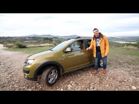 Renault  Sandero Stepway Хетчбек класса B - тест-драйв 3
