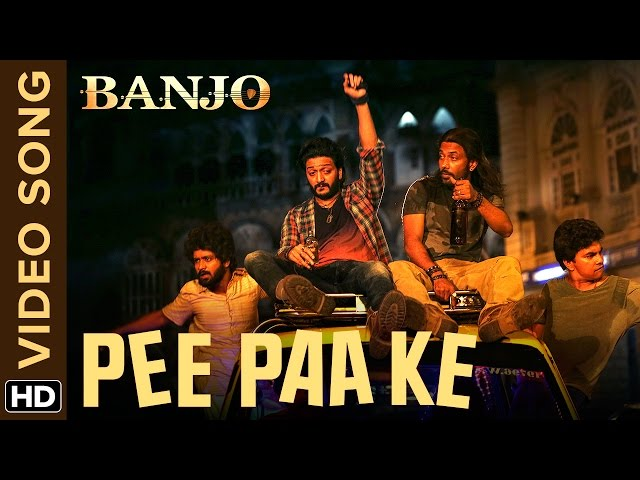 Riteish Deshmukh Pee Paa Ke Full Video Song | Banjo Movie Songs 2016