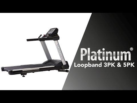 Promovideo: Běžecký pás TUNTURI PLATINUM 5.0 PRO New