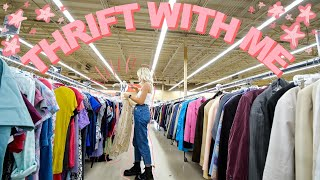 COME THRIFT WITH ME ON A SALE DAY | thrifting at Savers 50% off EVERYTHING SALE + thrift store HAUL