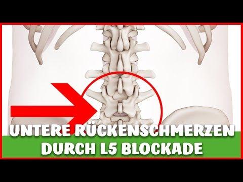 Wunder unterer Rücken und Bauch Distension
