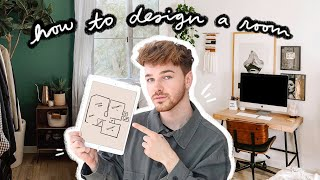 How To Design A Room From START TO FINISH! (My Tips & Hacks)