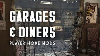 Only the Best Garage and Diner Player Homes