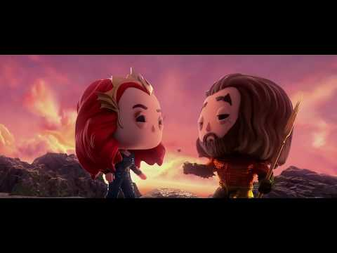 [FMV/ENG] Aquaman (Chibi),Everything I Need - Skylar Grey [CHI/ENG Lyrcis] (Q Edition FMV)