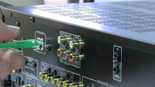 ONKYO TX 8050 Stereo Network Receiver   How to use