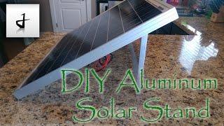 diy-aluminum-solar-panel-stand