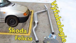 Výfukologie   Škoda Felicia 1.6