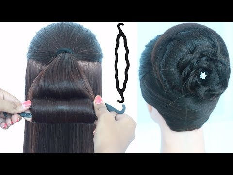 latest hairstyle with using magic hair lock | ladies hair style | cute hairstyles | hair style girl