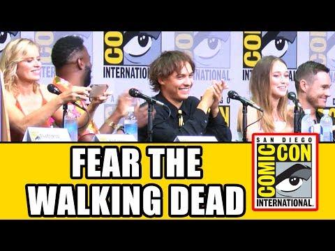 FEAR THE WALKING DEAD Comic Con 2017 Panel - Season 3, News & Highlights | MTW
