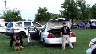 preview picture of video 'K-9 Demonstration West Deptford'