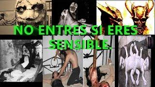 La TERRORÍFICA PAGINA encontrada en la DEEP WEB (RITUALES SATANICOS)