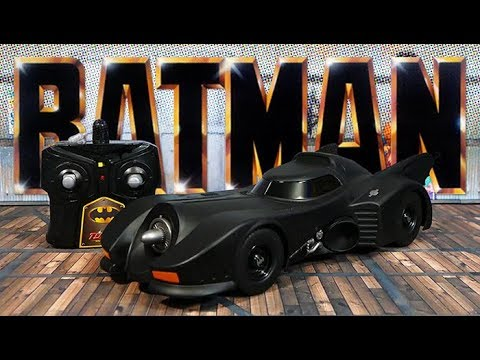 JADA Hollywood Rides RC Batmobile Test Drive
