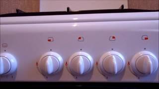 Газовая плита гефест с электроподжигом и газконтролем