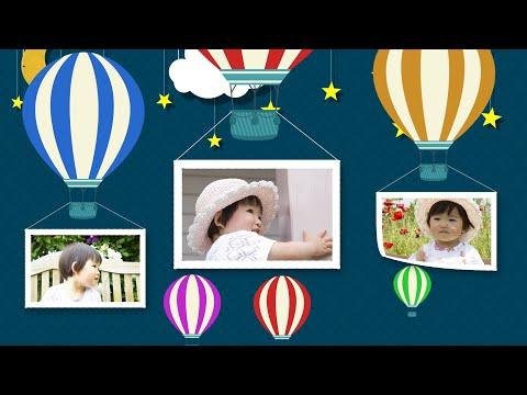 お子さまの「お誕生日記念動画」を制作いたします スマホやPCで見れる「動くフォトアルバム」 イメージ1