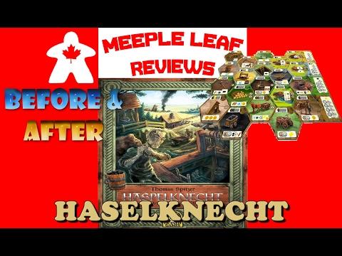 Meeple Leaf Reviews: Haspelknecht -  Before & After