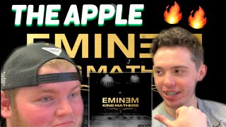 Friend Reacts To | EMINEM - THE APPLE