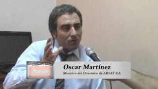 """NUESTRAS VOCES / Oscar """"Cachi"""" Martinez, Miembro del Directorio de ARSAT S:A."""