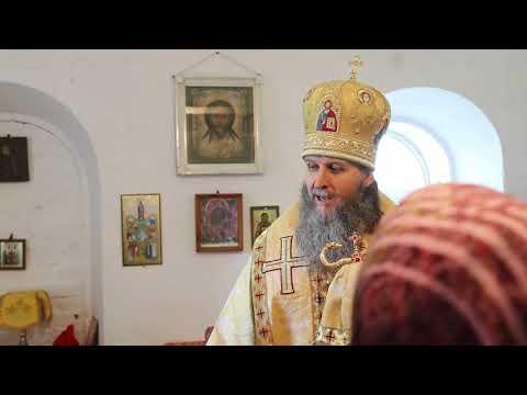 Митрополит Даниил совершил Литургию рядом с разрушенным в годы гонений храмом в Мендерском