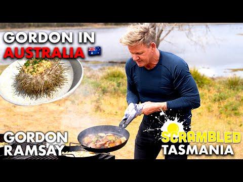 Gordon Ramsay Makes Sea Urchin Scrambled Eggs in Australia   Scrambled