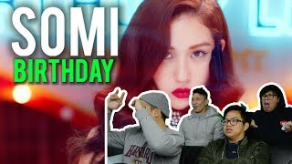 "OOPS YOU'RE NOT INVITED To SOMI's ""BIRTHDAY"" (MV Reaction) #banger"