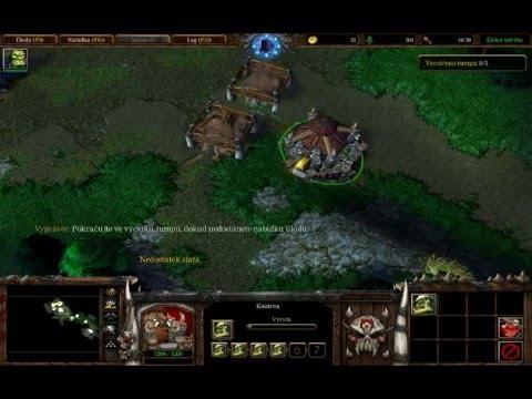 Warcraft 3 Reign of chaos(2) - Tutoriál s Thrallem - Osvobození  Grommashe Hellscreama