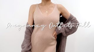 PREGNANCY OUTFIT IDEAS for Fall, Comfy & Casual   Maternity Outfit Ideas   Miss Louie