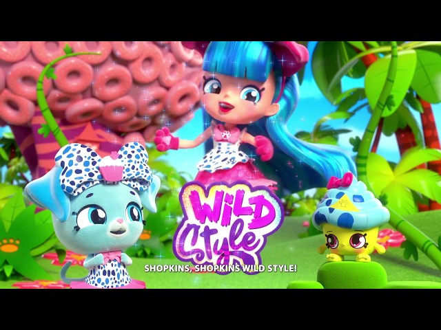 Кукла SHOPKINS SHOPPIES S9 серии Wild style