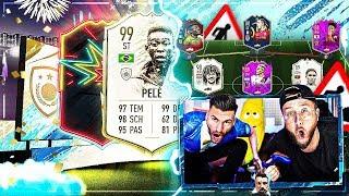 FIFA 20:PRIME ICON MOMENTs + WinterRefresh PACK OPENING + OTW SBC und TEAMBAU !!